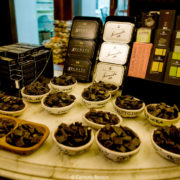 Shop Dolceria Bonajuto from 1880 it's the oldest chocolate factory in Sicily.